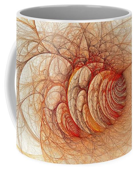 Coffee Mug featuring the digital art Briar Patch Again-3 by Doug Morgan