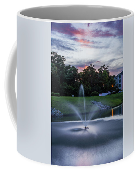 Sunset Coffee Mug featuring the photograph Briarcliffe Acres Sunset by Scott Kwiecinski