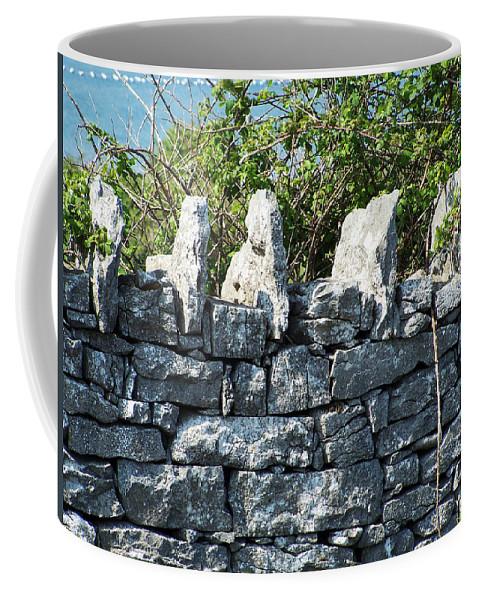 Irish Coffee Mug featuring the photograph Briars And Stones New Quay Ireland County Clare by Teresa Mucha