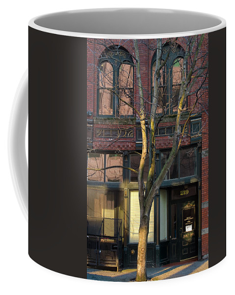 Photo Coffee Mug featuring the photograph Brick And Mortar by David Patterson