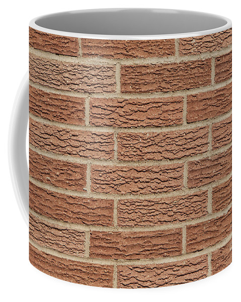 Brick Coffee Mug featuring the photograph Brick Wall by Anthony Totah