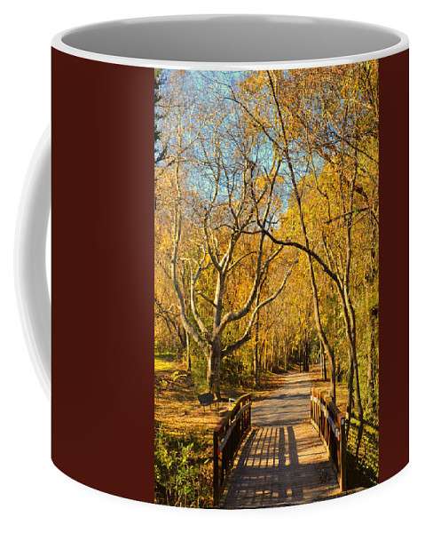 Trail Coffee Mug featuring the photograph Bridge Of Sighs by Stephen Anderson
