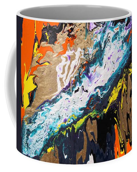 Fusionart Coffee Mug featuring the painting Bridge by Ralph White