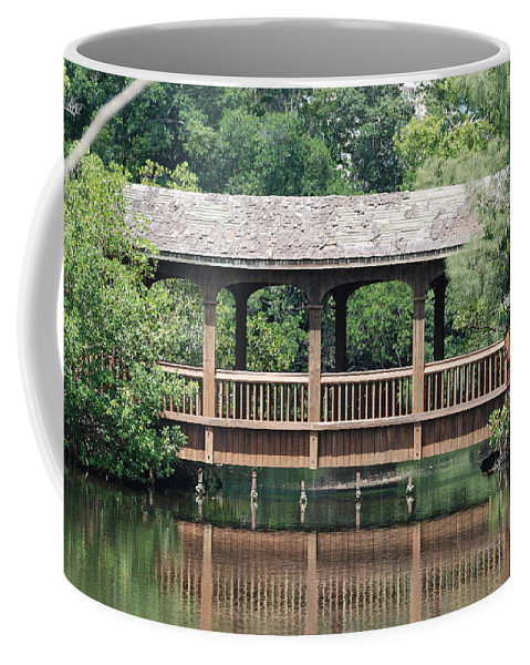 Architecture Coffee Mug featuring the photograph Bridges Of Miami Dade County by Rob Hans