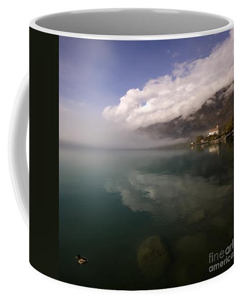 Switzerland Coffee Mug featuring the photograph Brienzersee by Angel Ciesniarska