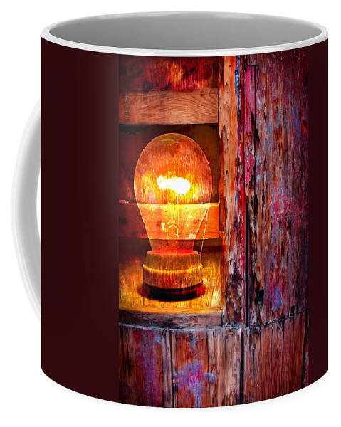 Skip Coffee Mug featuring the photograph Bright Idea by Skip Hunt