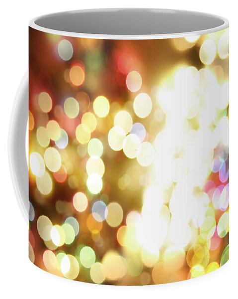 Bright Lights Coffee Mug featuring the digital art Bright Lights by Les Cunliffe