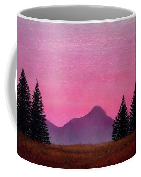 Landscape Coffee Mug featuring the painting Brightness by Frank Wilson