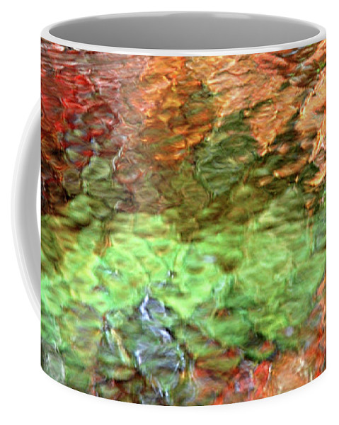 Abstract Water Coffee Mug featuring the photograph Brilliance by Christina Rollo