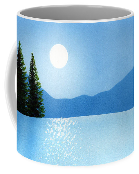 Brilliance Coffee Mug featuring the painting Brilliance by Frank Wilson