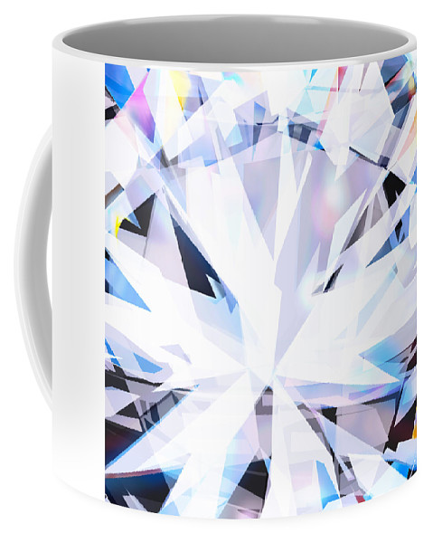 Background Coffee Mug featuring the photograph Brilliant Diamond by Setsiri Silapasuwanchai