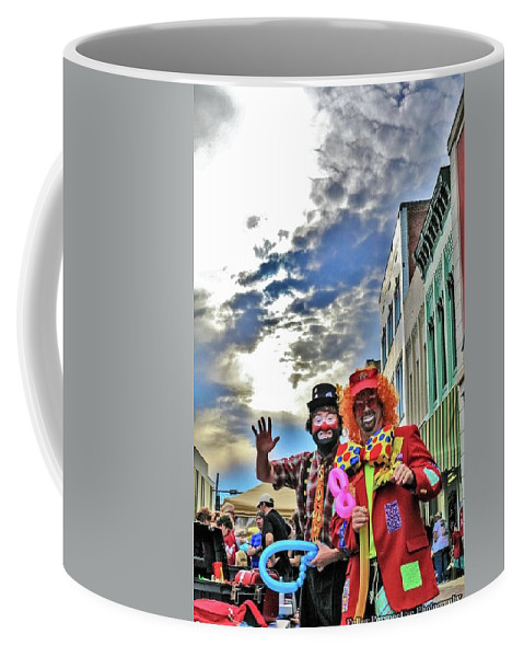 Sky Coffee Mug featuring the photograph Bring Out The Clowns by Chad Fuller