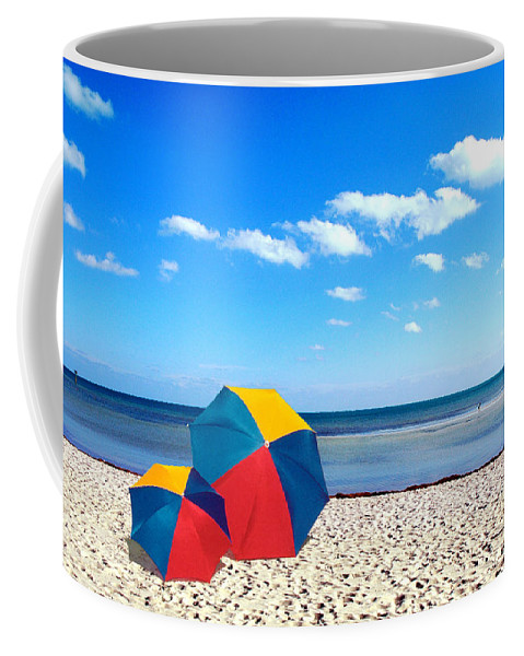 Unbrellas Coffee Mug featuring the photograph Bring The Umbrella With You by Susanne Van Hulst