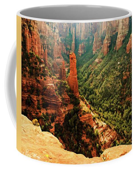 Arizona Coffee Mug featuring the photograph Brins Mesa 07-143 by Scott McAllister