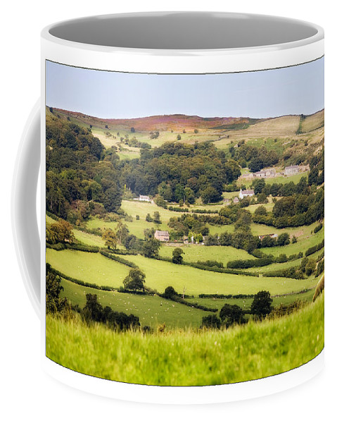 Landscape Coffee Mug featuring the photograph British Landscape by Mal Bray