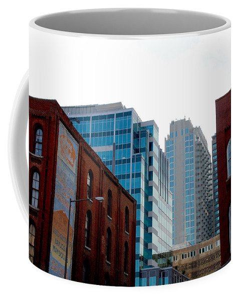 Nashville Photos Coffee Mug featuring the photograph Broadway Nashville Tn by Susanne Van Hulst