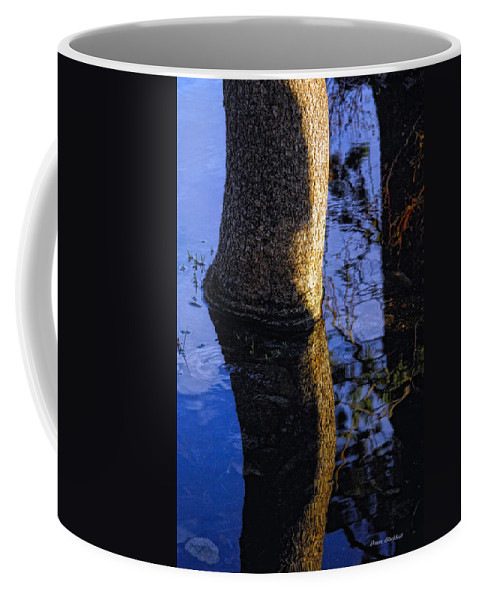 Water Coffee Mug featuring the photograph Broken Elbow by Donna Blackhall