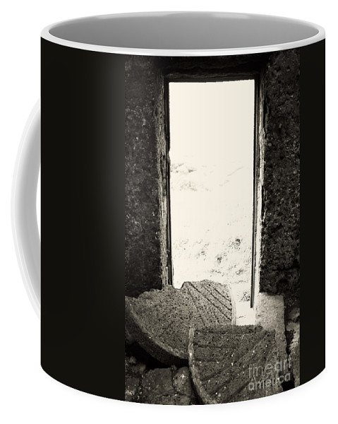 Azores Coffee Mug featuring the photograph Broken Millstone by Gaspar Avila
