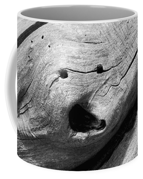 Wood Coffee Mug featuring the photograph Broken Smiles by Donna Blackhall