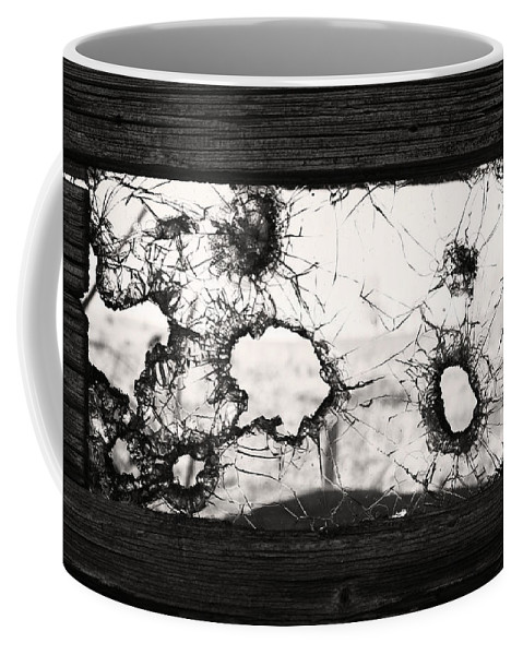 Window Coffee Mug featuring the photograph Broken To Beautiful by The Artist Project