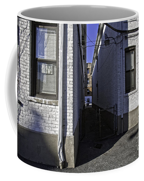 Alley Coffee Mug featuring the photograph Brooklyn Alleyway by Madeline Ellis