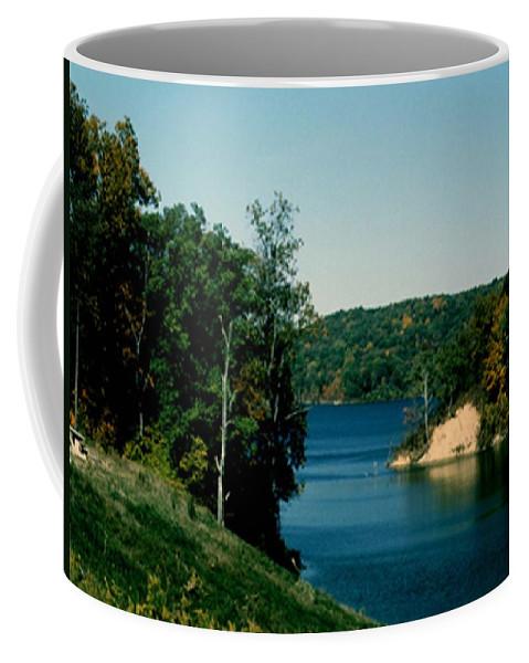Brookville Indiana Coffee Mug featuring the photograph Brookville Lake Brookville Indiana by Gary Wonning