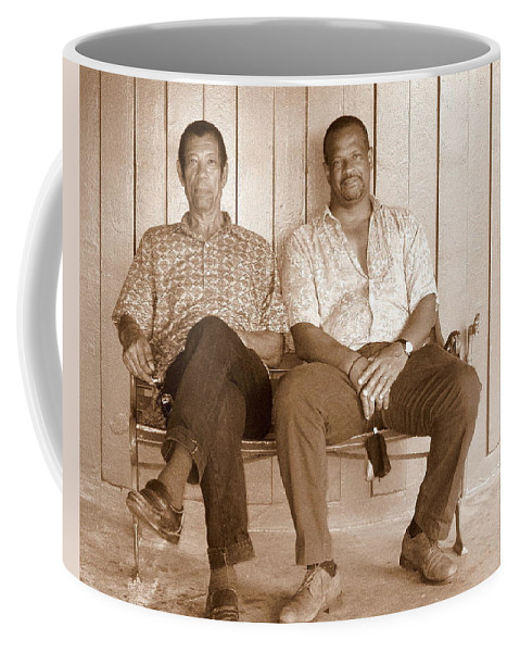 Brothers Coffee Mug featuring the photograph Brothers by Deborah Crew-Johnson