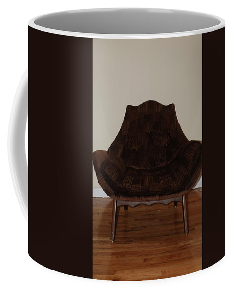Chair Coffee Mug featuring the photograph Brown Chair by Rob Hans