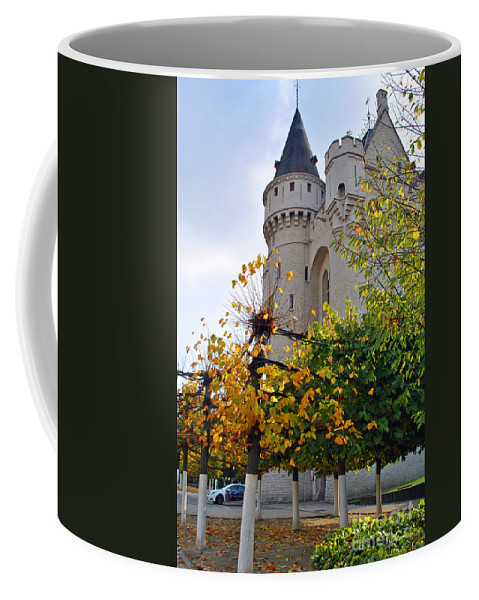 Brussels Coffee Mug featuring the photograph Brussels Fortress by Jost Houk