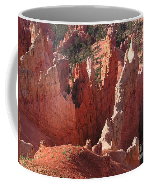 Bryce Coffee Mug featuring the photograph Bryce Canyon Look by Louise Magno