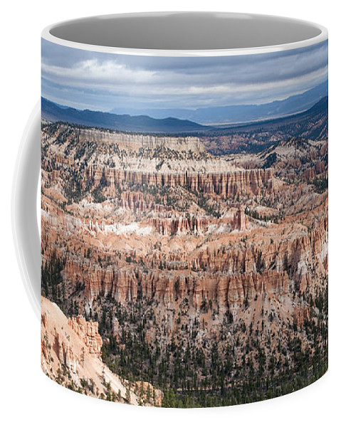 Bryce Canyon National Park Coffee Mug featuring the photograph Bryce Canyon Overlook by Sandra Bronstein