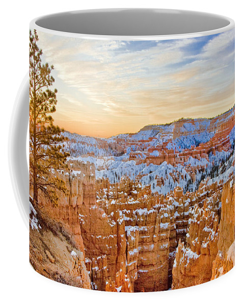 West Coffee Mug featuring the photograph Bryce Canyon Sunset by Ches Black