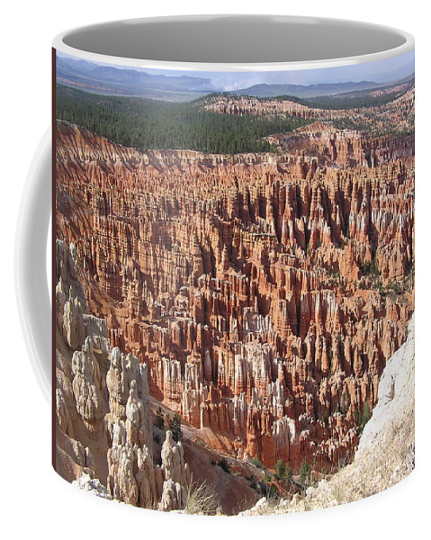 Bryce Coffee Mug featuring the photograph Bryce by Louise Magno