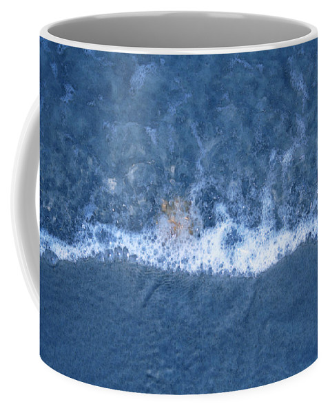 Nature Coffee Mug featuring the photograph Bubble Lines by Linda Sannuti