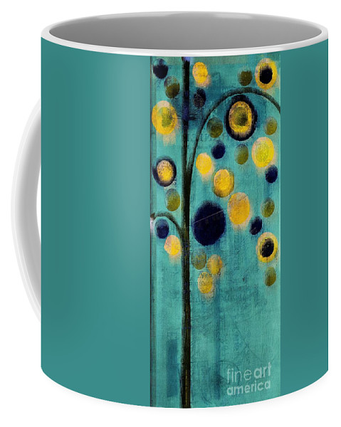 bubble Tree Coffee Mug featuring the painting Bubble Tree - 42r1-cb4 by Variance Collections