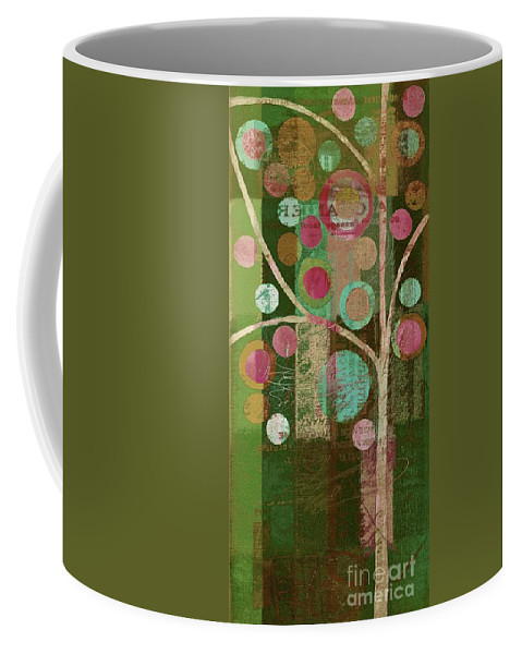 Bubble Tree Coffee Mug featuring the painting Bubble Tree - 85lc16-j678888 by Variance Collections