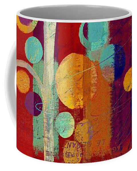 ubble Tree Coffee Mug featuring the painting Bubble Tree - 85rc13-j678888 by Variance Collections