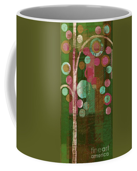 bubble Tree Coffee Mug featuring the painting Bubble Tree - 85rc16-j678888 by Variance Collections