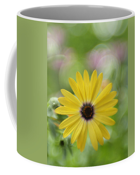 Flowers Coffee Mug featuring the photograph Bubbly Lemon Symphony by Dorothy Lee