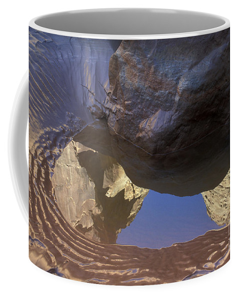 Buckskin Gulch Coffee Mug featuring the photograph Buckskin Gulch Reflection by Sandra Bronstein