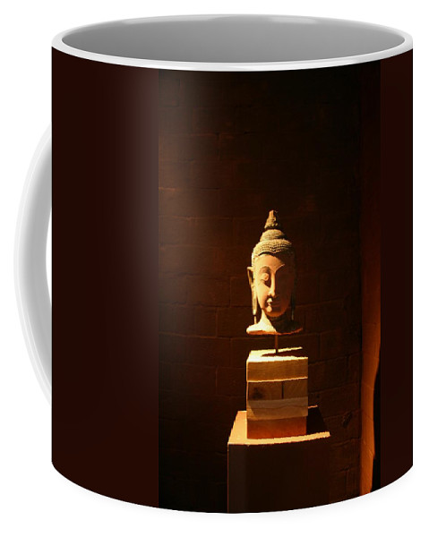 Buddhism Coffee Mug featuring the photograph Buddhism In Belgium by Minaz Jantz