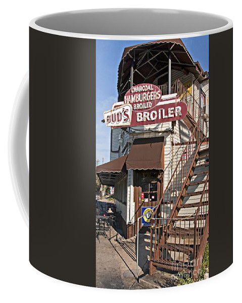 Photography Coffee Mug featuring the photograph Bud's Broiler New Orleans by Kathleen K Parker