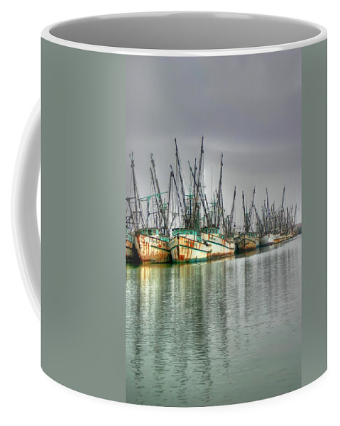 Boats Coffee Mug featuring the photograph Buena Suerte by Dolly Sanchez