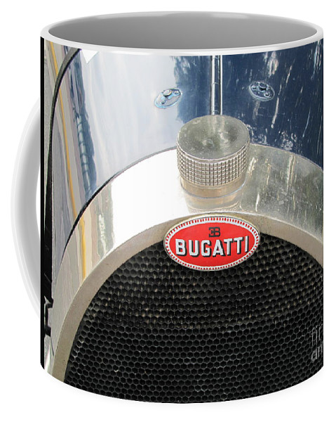 Bugatti Coffee Mug featuring the photograph Bugatti by Neil Zimmerman