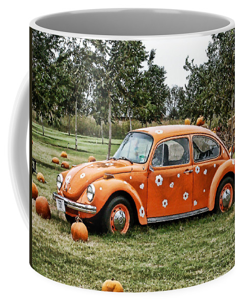 Bug Coffee Mug featuring the photograph Bugs In The Patch Again by Scott Wyatt