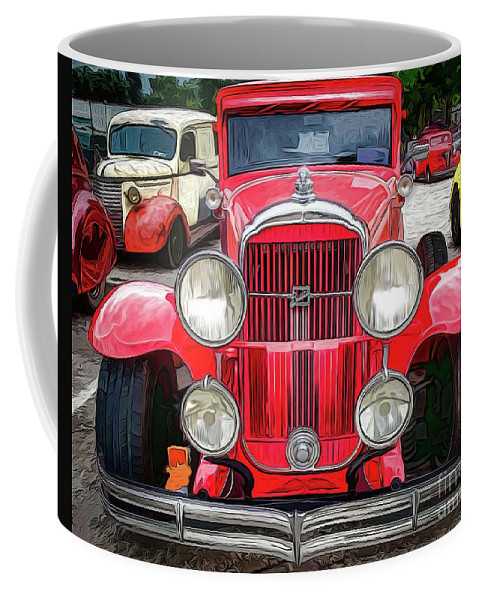 Warrena J. Barnerd Coffee Mug featuring the photograph Buick by Warrena J Barnerd