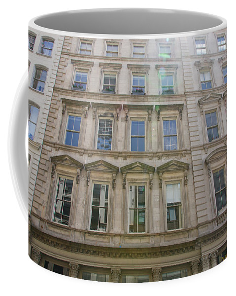 Alicegipsonphotographs Coffee Mug featuring the photograph Building Windows by Alice Gipson