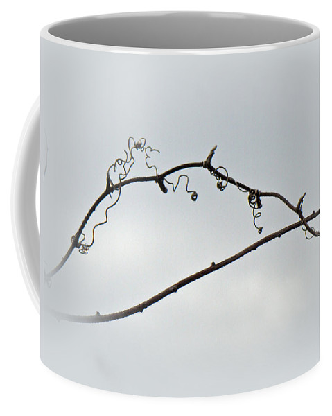 Brier Coffee Mug featuring the photograph Bull Brier Tendrils by Mother Nature