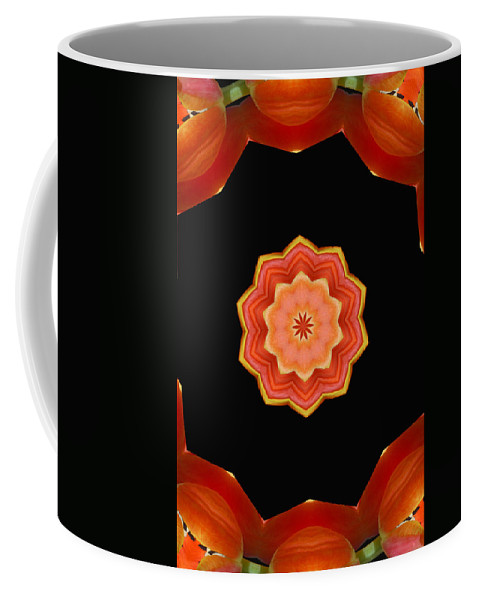 Modern Coffee Mug featuring the digital art Bullseye by Donna Blackhall