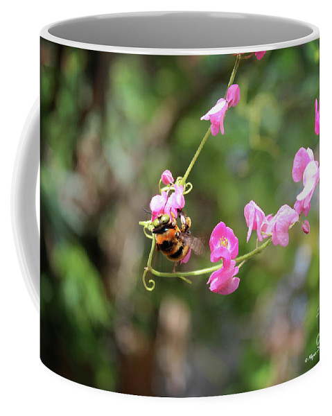 Keywords Coffee Mug featuring the photograph Bumble Bee1 by Megan Dirsa-DuBois